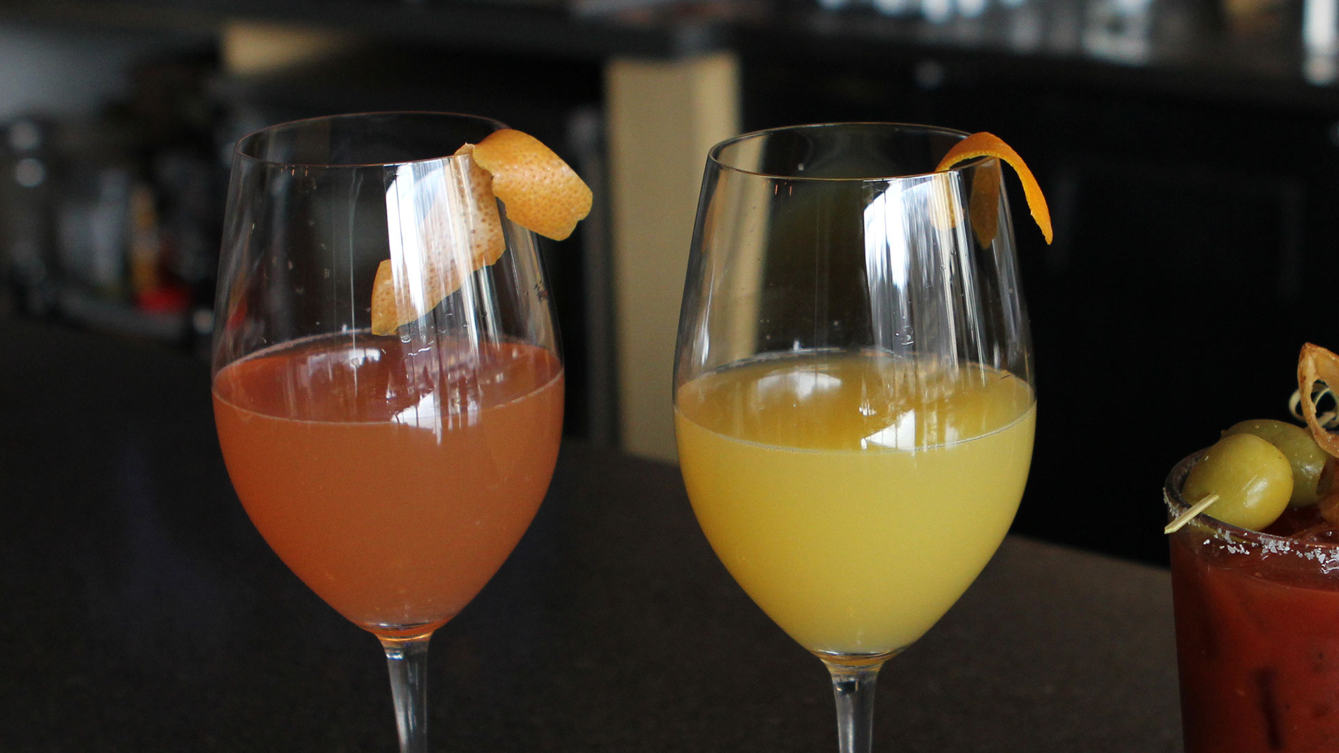 Mimosas at Piedmont Bistro by Venue