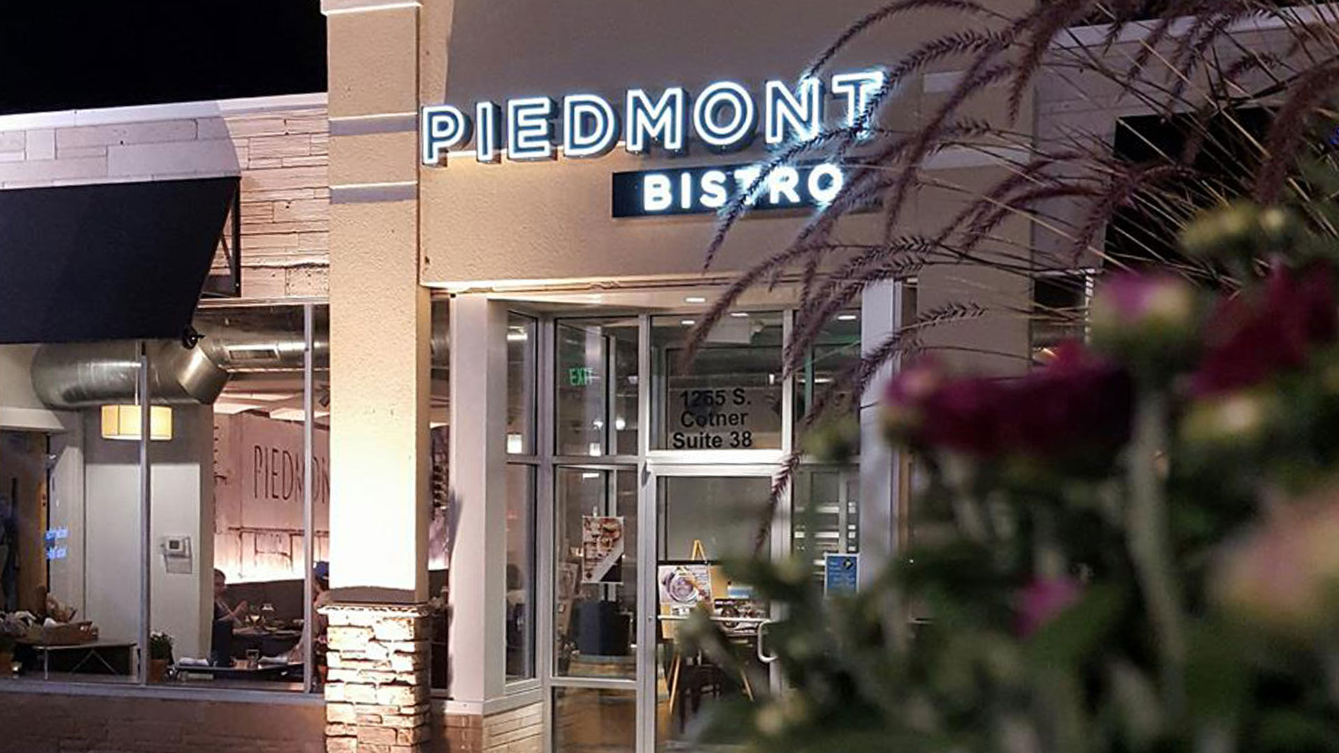 Building exterior of Piedmont Bistro by Venue in Lincoln, NE